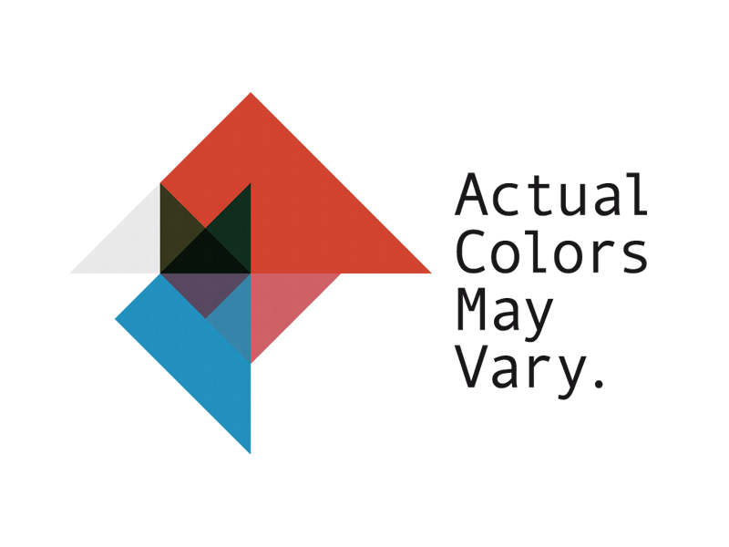 Actual Colors May Vary {ACMV}