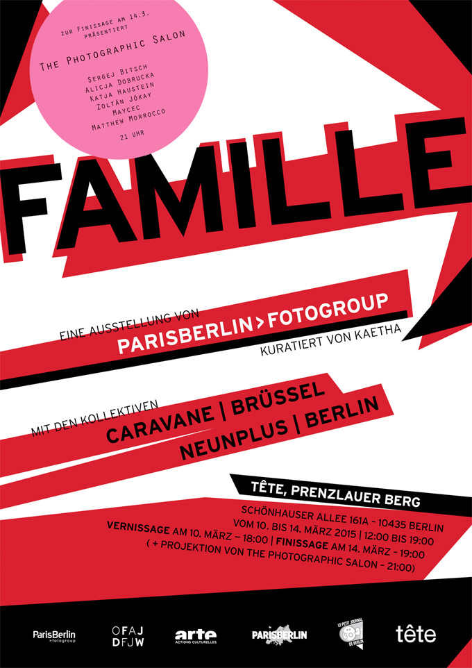 ParisBerlin>fotogroup | FAMILLE, Curated By Kaetha