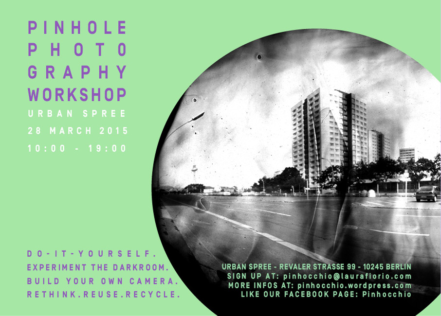 Pinhole Photography Workshop with Laura Fiorio