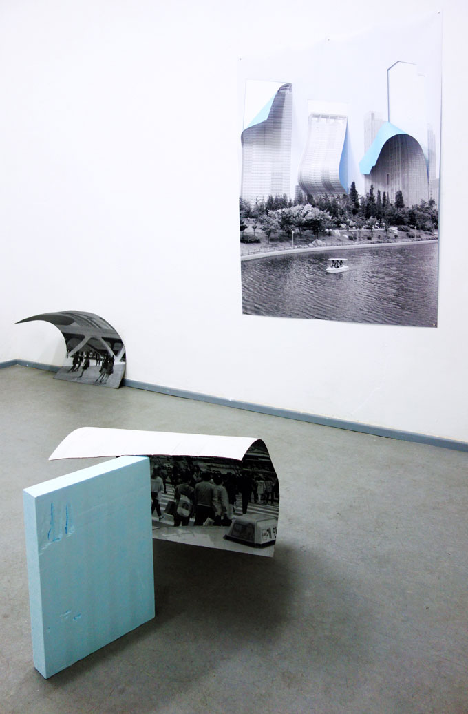 """Diana Artus – """"There Is Tiresome, But Attractive"""", Installation View"""