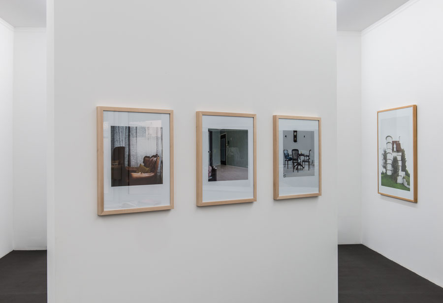 »Zimmer Mit Aussicht | Room With A View«. Installationsansicht | Exhibition View Kehrer Galerie, 2016.