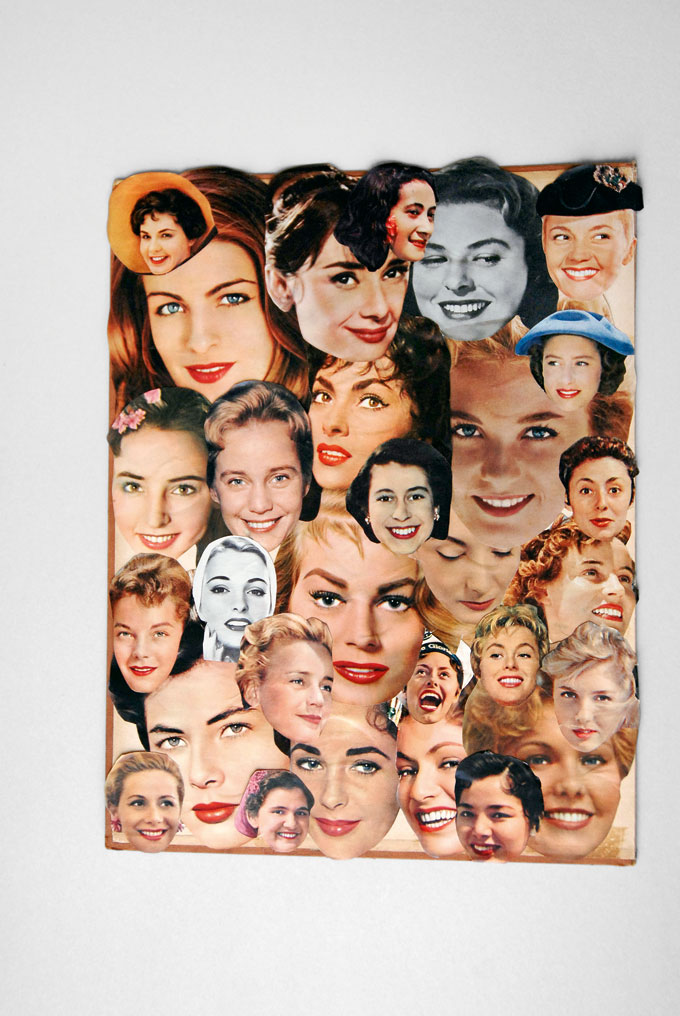 Collage © Hans-Peter Feldmann, Courtesy Mehdi Chouakri, Berlin