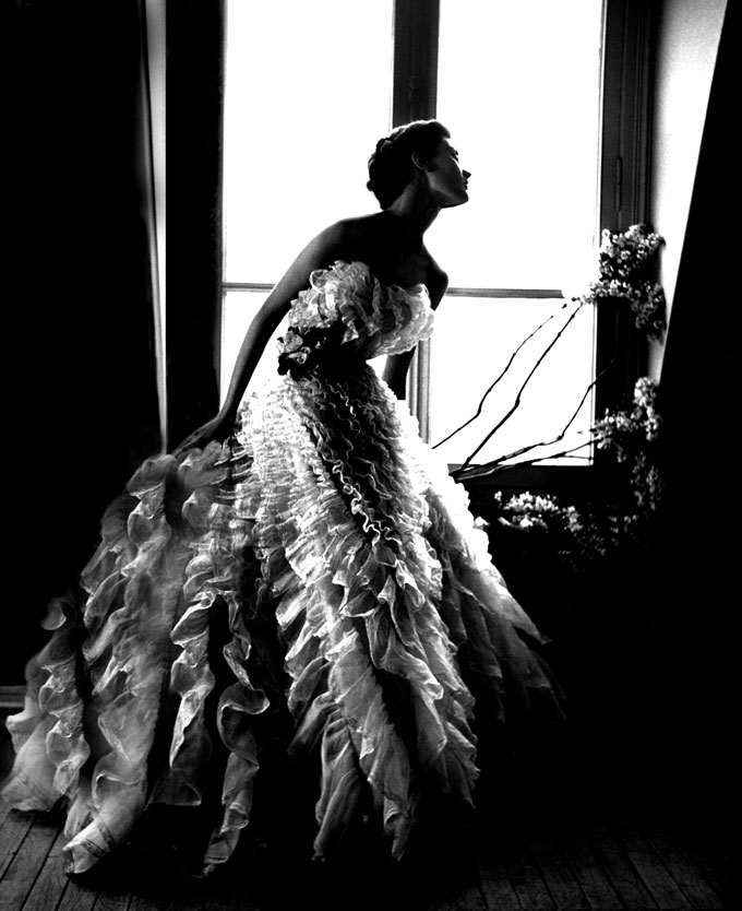 Lillian Bassman, Fantasy On The Dance Floor, Barbara Mullen, Dress By Christian Dior, Paris, 1949 © Estate Of Lillian Bassman