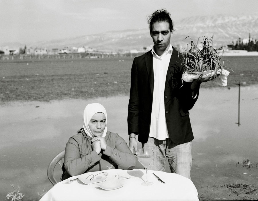 "© Omar Imam, From The Series Live, Love, Refugee. ""There Was Only Grass. I Couldn't Pass It Through My Throat, But I Forced Myself To Swallow It In Front Of The Children So They Would Accept It As Food."""