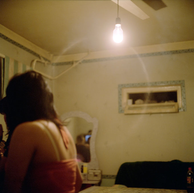 An Uzbek Girls Working As A Prostitute In Jetigen Sauna. Osh, 2009, Kyrgyzstan © Robert Knoth & Antoinette De Jong