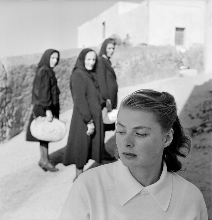 Ingrid Bergmann At Stromboli, Stromboli, Italy, 1949. Photograph By Gordon Parks, Courtesy Of And © The Gordon Parks Foundation
