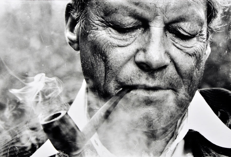 Willy Brandt, Norwegen 1977 © Kurt Will, STERN Fotograf († 2008)