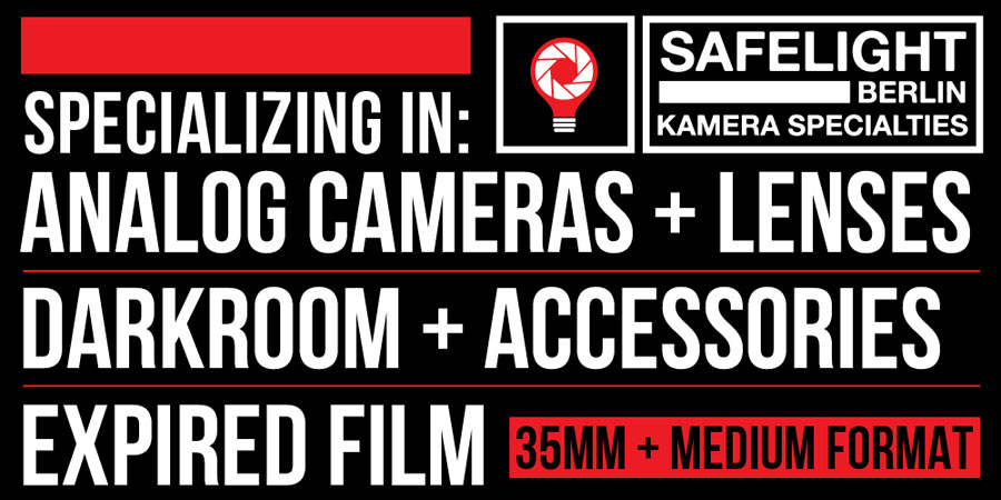 Safelight Berlin | Kamera Specialties