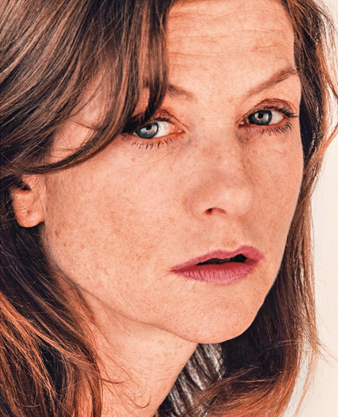 Michael Fuchs Galerie | Roni Horn, Portrait Of An Image (with Isabelle Huppert), 2005, Detail, Courtesy Michael Fuchs Galerie