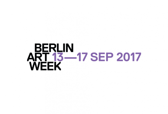 »Berlin Art Week 2017« | Sep 13 — 17