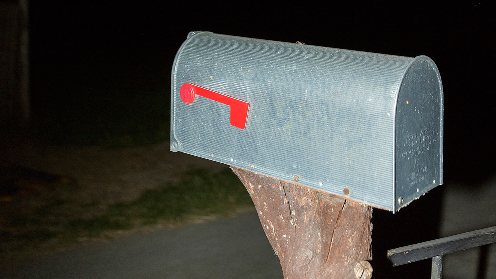Mailbox (detail), from the series Cowboy by choice © Ulrike Schmid