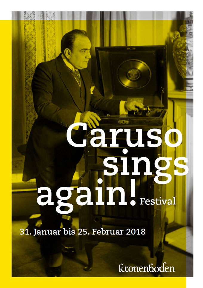 Caruso Sings Again, Poster