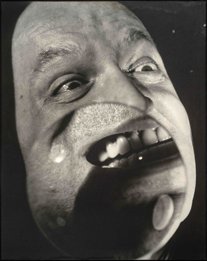 Nathan Lerner, Focused View For Camera: Brown's Face, 1939, Print 1972 © Nathan Lerner / Courtesy: Galerie Berinson, Berlin
