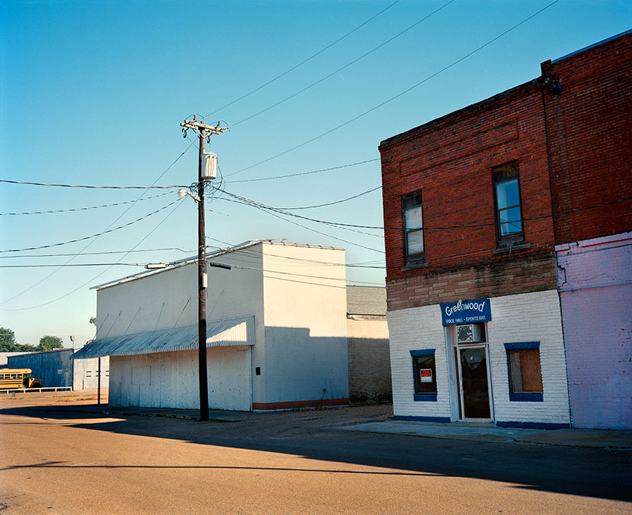 Sports Bar, Mississippi, 2016 © Jörg Rubbert