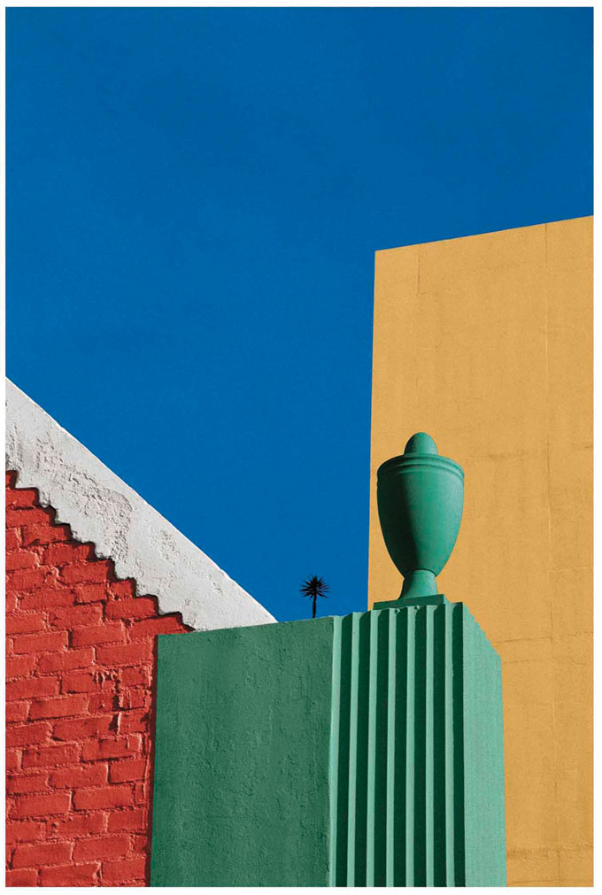 Urban Landscape, Los Angeles, 1990 © Franco Fontana, Courtesy SR Contemporary Art Berlin