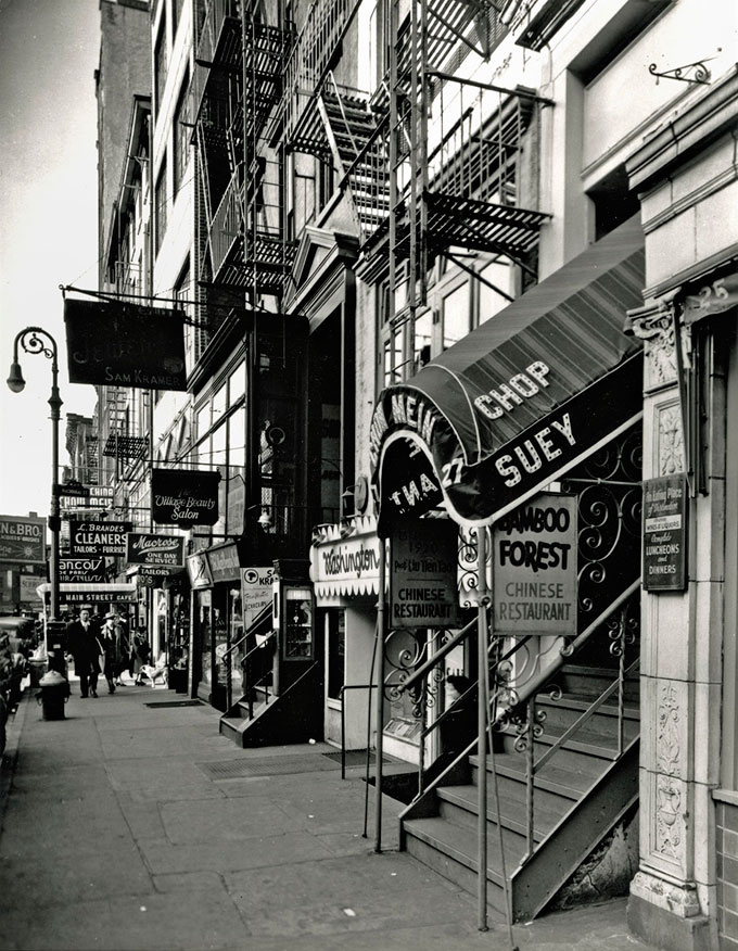 © Berenice Abbott, Chop Suey, West 8th Street, From The Series Changing New York, 1935–38