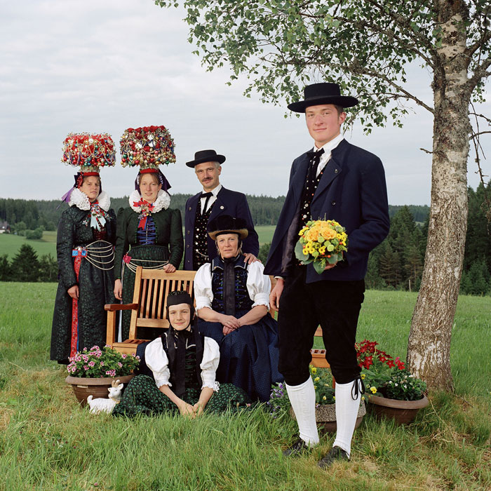 Traditional Costume Society In St. Georgen, Black Forest © Sabine Von Bassewitz