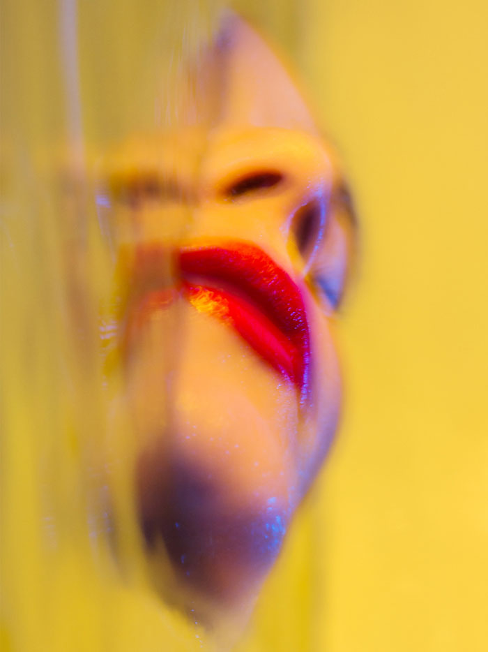 Lips In Yellow © Matthew Coleman