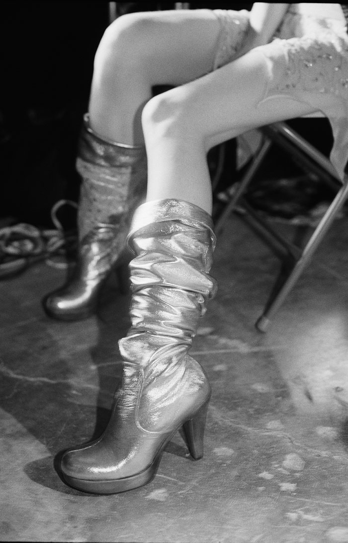 Just Loomis, Silver Boots, Los Angeles 2003 © Just Loomis