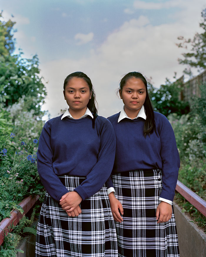 """© Lara Ohl, The Twins, From The Series """"the Boarders"""""""