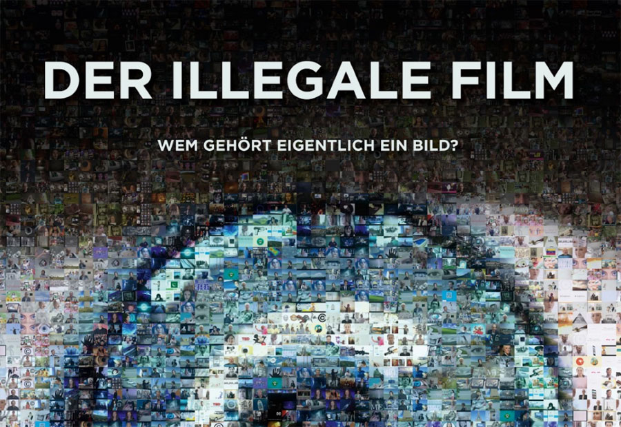 Der illegale Film – Wem gehört eigentlich ein Bild? (The Illegal Film – who actually owns a picture?) A film by Martin Baer and Claus Wischmann. (2018, 80 min.)