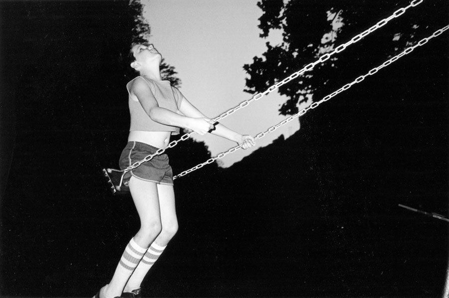 David On Swing, West Virginia 1987, 44 X 29,5 Cm, Archival Pigment Print, Ed. Of 5 + 2 AP's © Bertien Van Manen, Courtesy Robert Morat Galerie