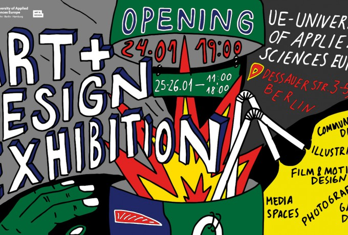 University Of Applied Sciences Europe | »Graduation Exhibition At Campus Berlin«