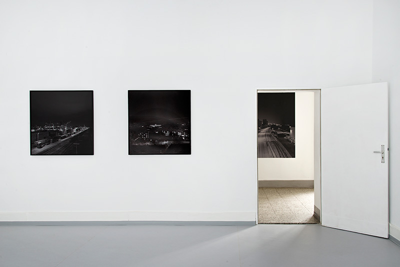 HAUS Am KLEISTPARK | Projektraum: Mike Chick »Log Book«, Installation View, 2020