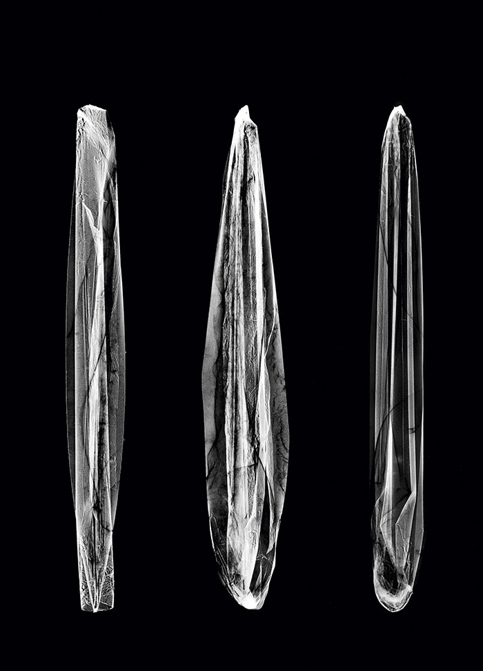Isabelle Le Minh, Quarz #3, Series Cristallogrammes, After Alfred Ehrhardt, 2019, Photogram Of Objects From Archive Materials, Pigment Print On Baryte Paper, 28 X 20 Cm © Isabelle Le Minh / ADAGP, Paris 2020