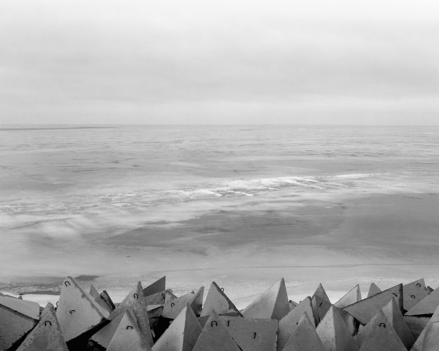 Wolga #437, 2020, From The Series AN DEN STRÖMEN (AT THE STREAMS), 92 X 115 Cm, Gelatin Silver Prints © Ute Mahler & Werner Mahler