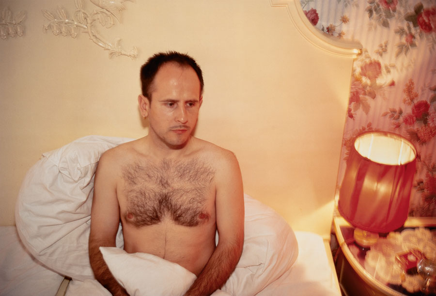 Nan Goldin, Piotr At Nürnberger Eck, Berlin, 1993 © Nan Goldin