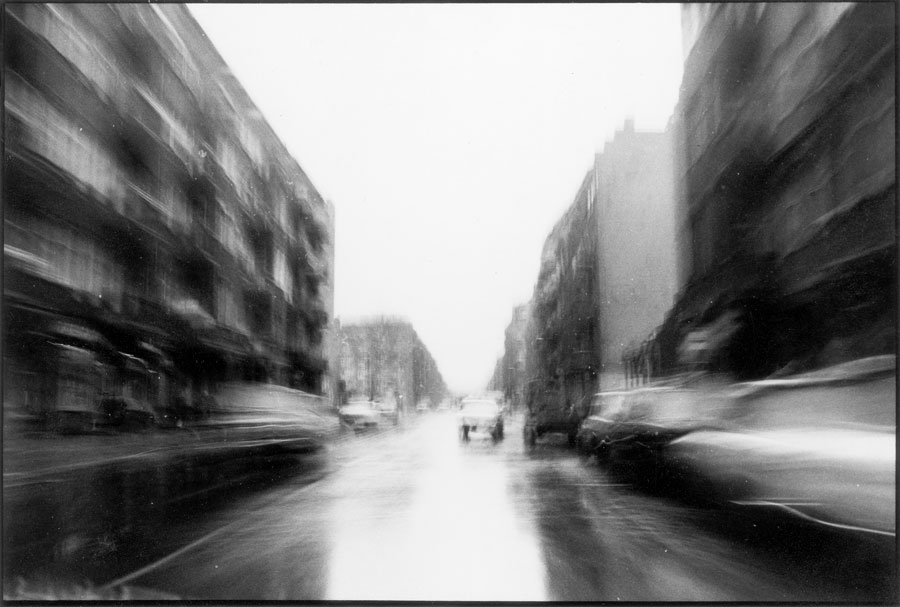 Kurt Buchwald, Grünberger Straße, Friedrichshain, From The Series Landscape And Movement, 1986–1988 © Kurt Buchwald